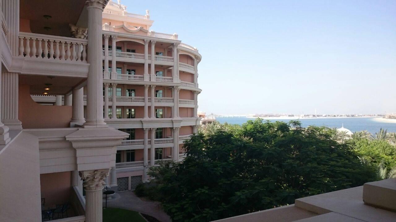 Vom Balkon Kempinski Hotel & Residences Palm Jumeirah