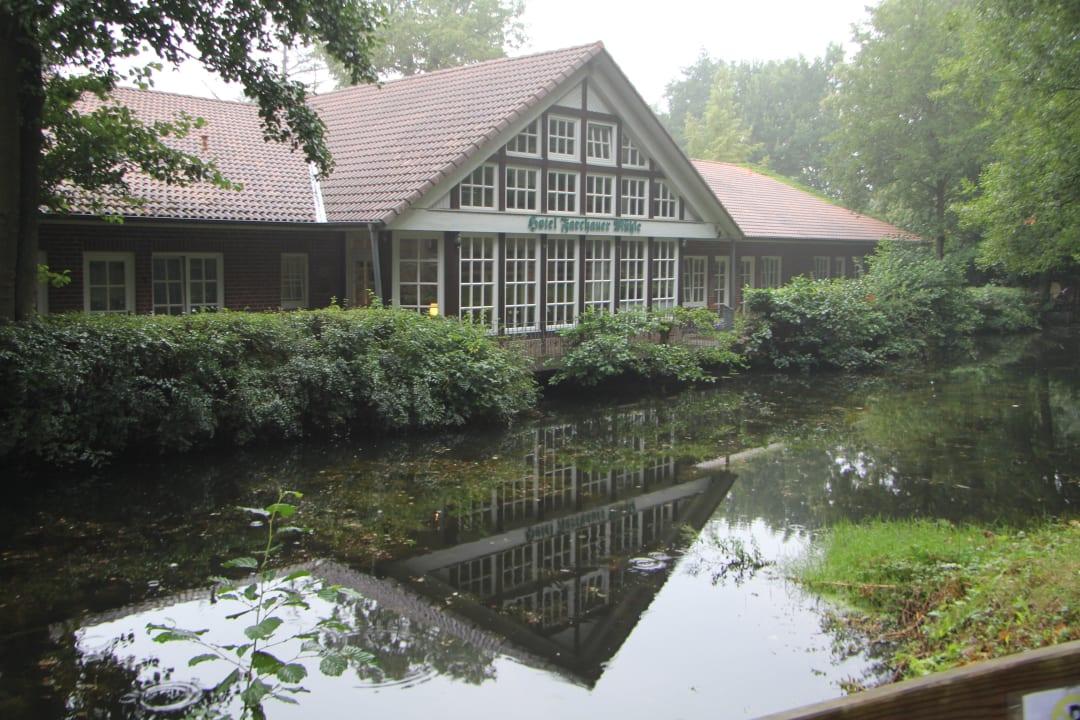 Hotelrezeption / -eingang  Hotel Farchauer Mühle