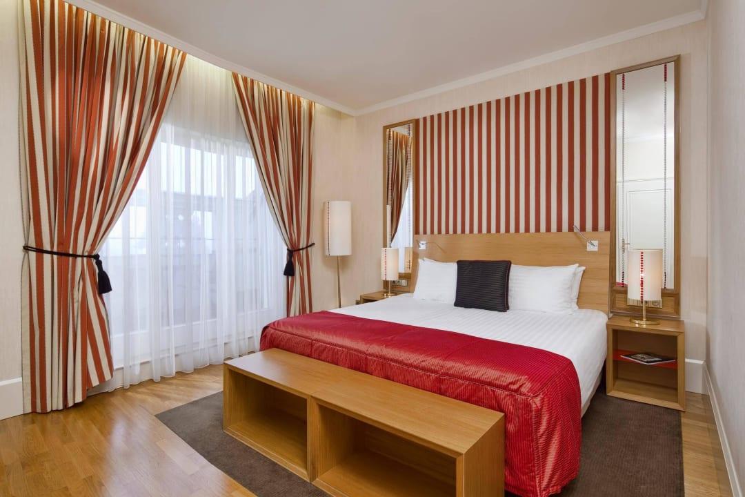 Deluxe Room Mamaison Hotel Riverside Prague