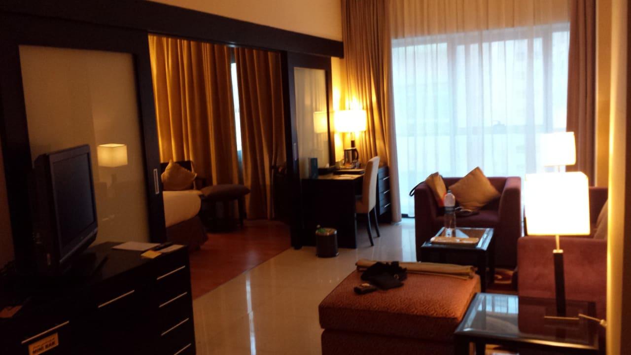 Grand Suite Wohnbereich Grandeur Hotel