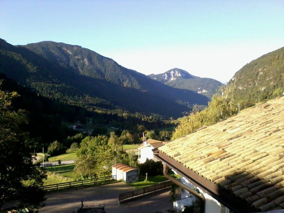 Ausblick vom Balkon Hotel Zum Löwen - Post