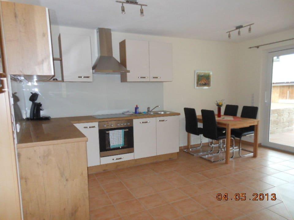 Küche Neubau Ferienhof Schmid