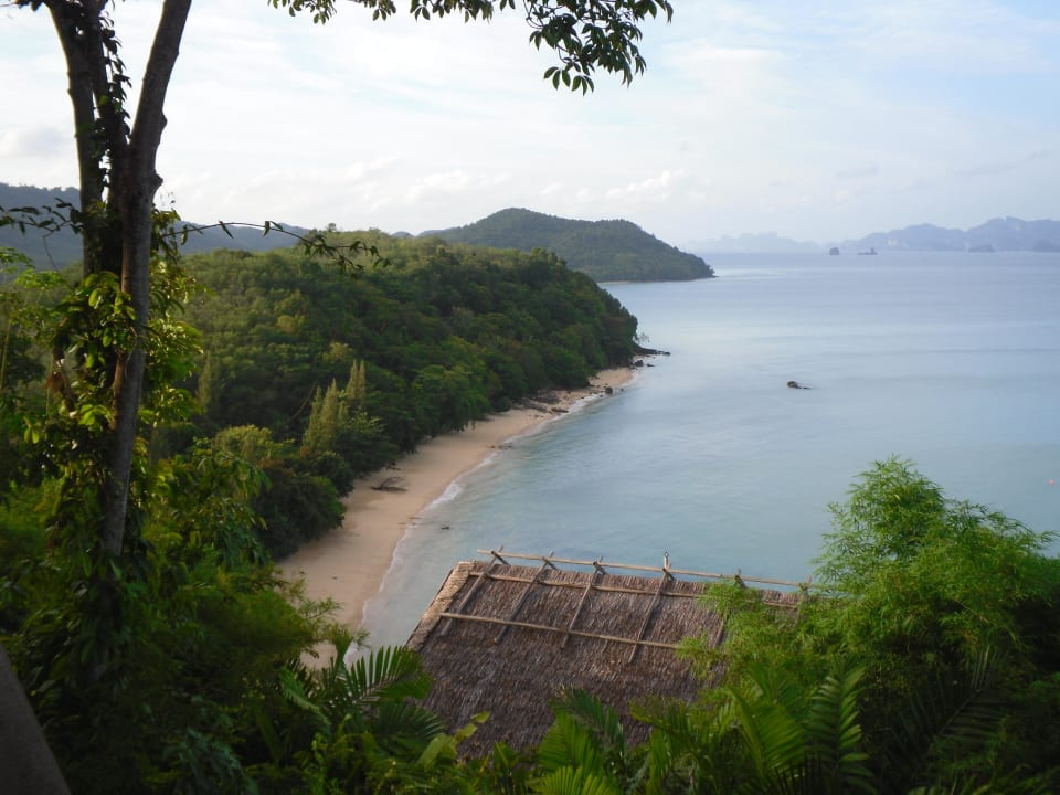 Blick vom Hilltop-Pool nach Norden Hotel Six Senses Yao Noi
