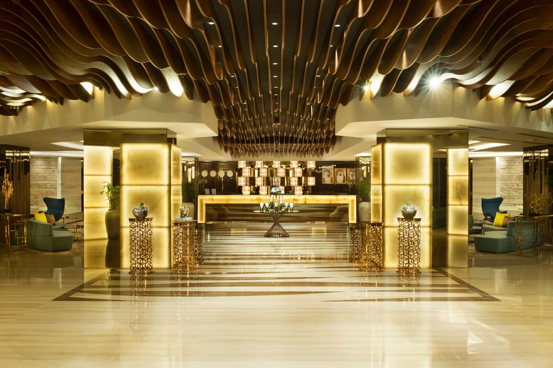Lobby Gulf Court Hotel Business Bay, WorldHotels Collection