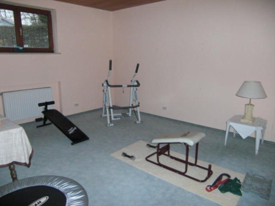 Kleiner Fitnessraum Hotel Bergstätter Hof