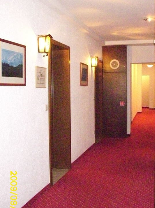 Zugang zu den Zimmern Hotel Nothnagel
