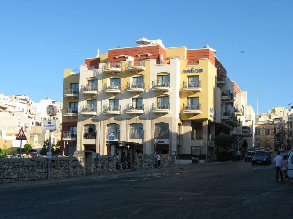 Hotel Frontansicht Maritim Antonine Hotel & Spa Malta