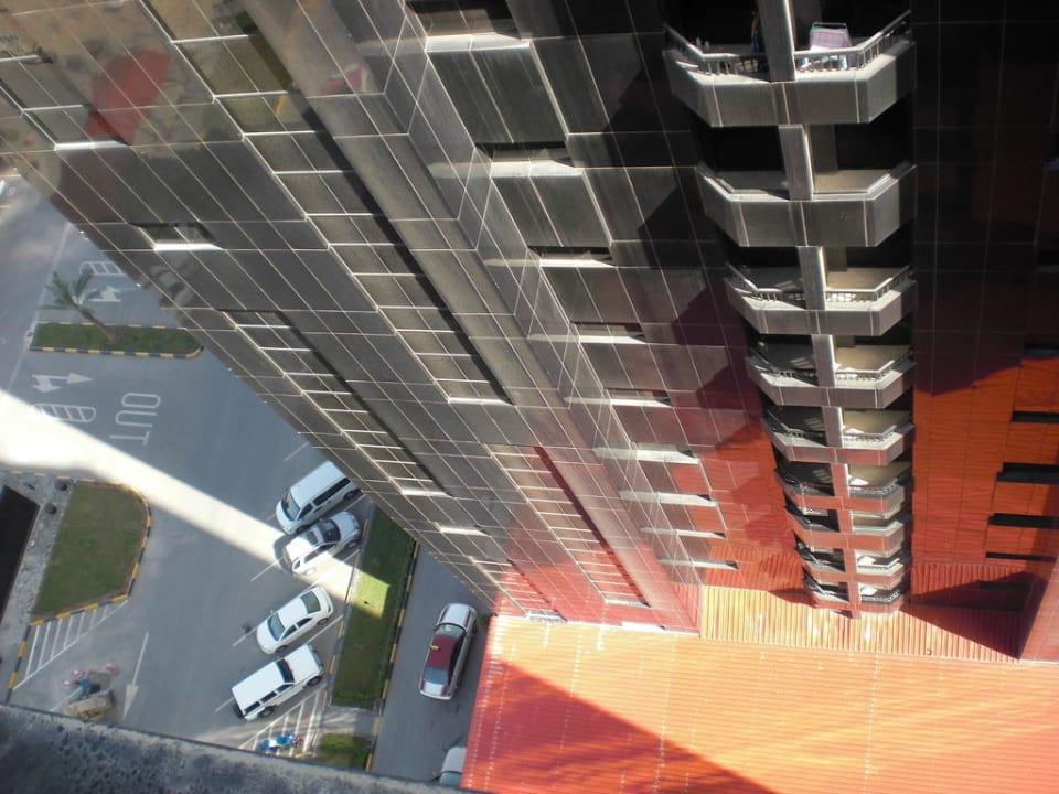 Aussicht vom 15. Stock Ramada Hotel & Suites by Wyndham Ajman