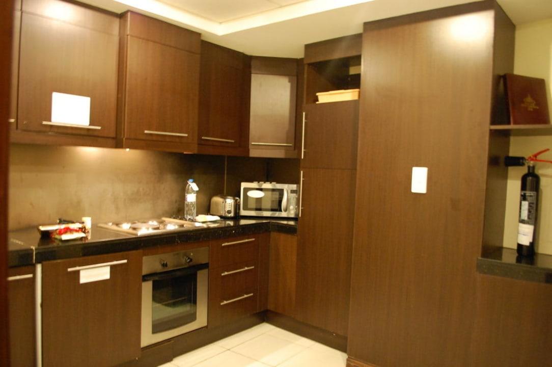 Küche Flora Park Deluxe Hotel Apartments