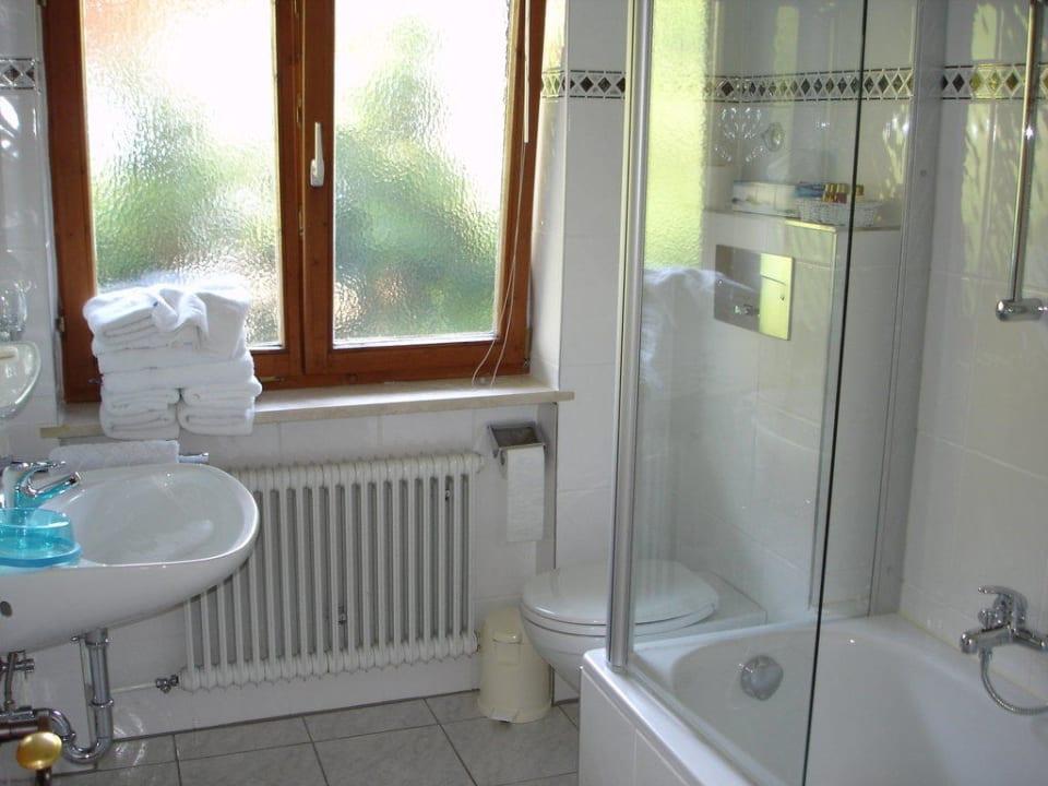 Badezimmer Appartement 1 Der Lederer Hof - Boutique Hotel & Apartments