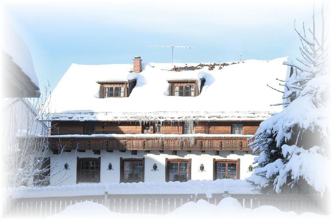Winterbild Pension und Ferienwohnungen Zum Rechen