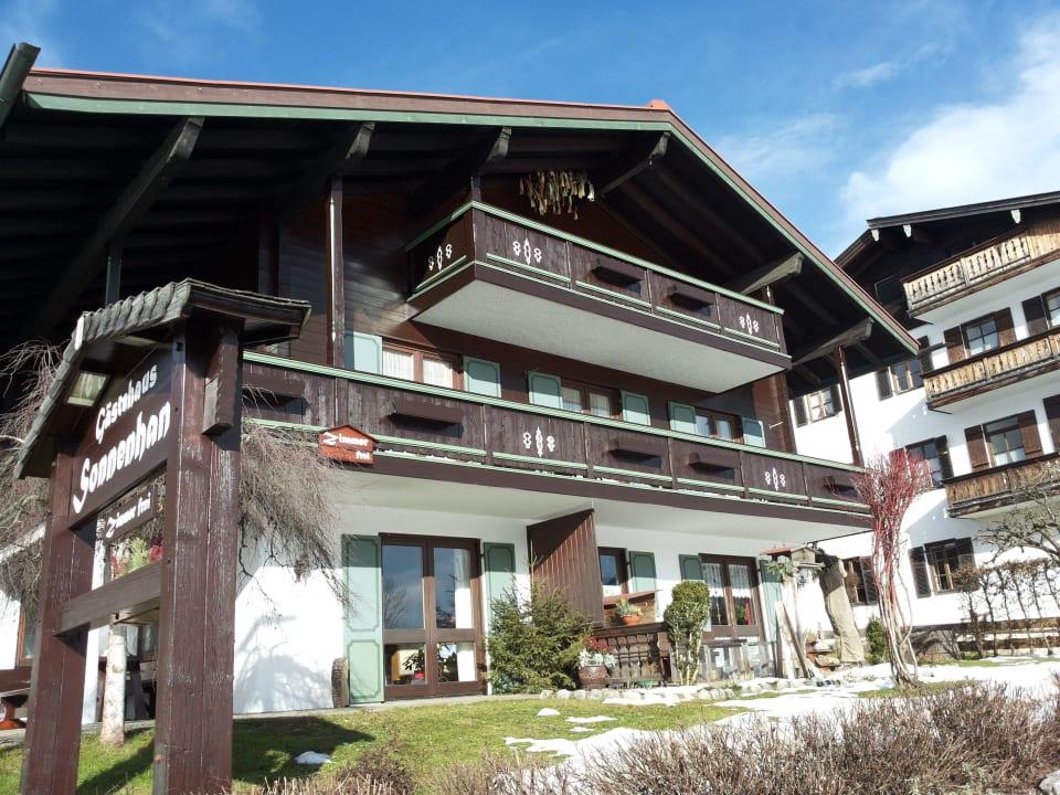 Ein schöner Wintertag Gästehaus Sonnenhang