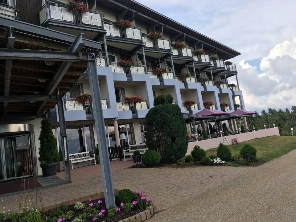 Außenansicht Nationalpark-Hotel Schliffkopf
