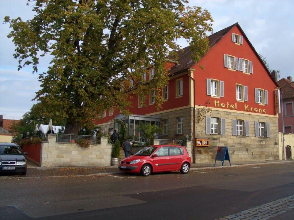Außenaufnahme Hotel Gasthof Krone