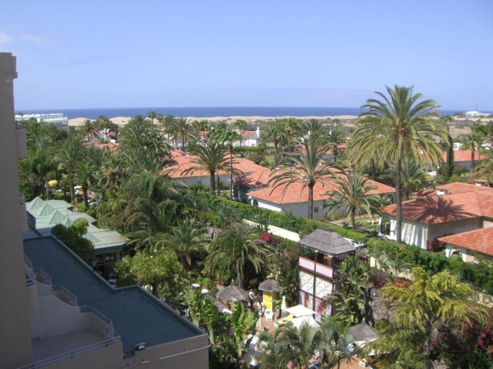Blick vom Balkon Richtung Meer Abora Catarina by Lopesan Hotels