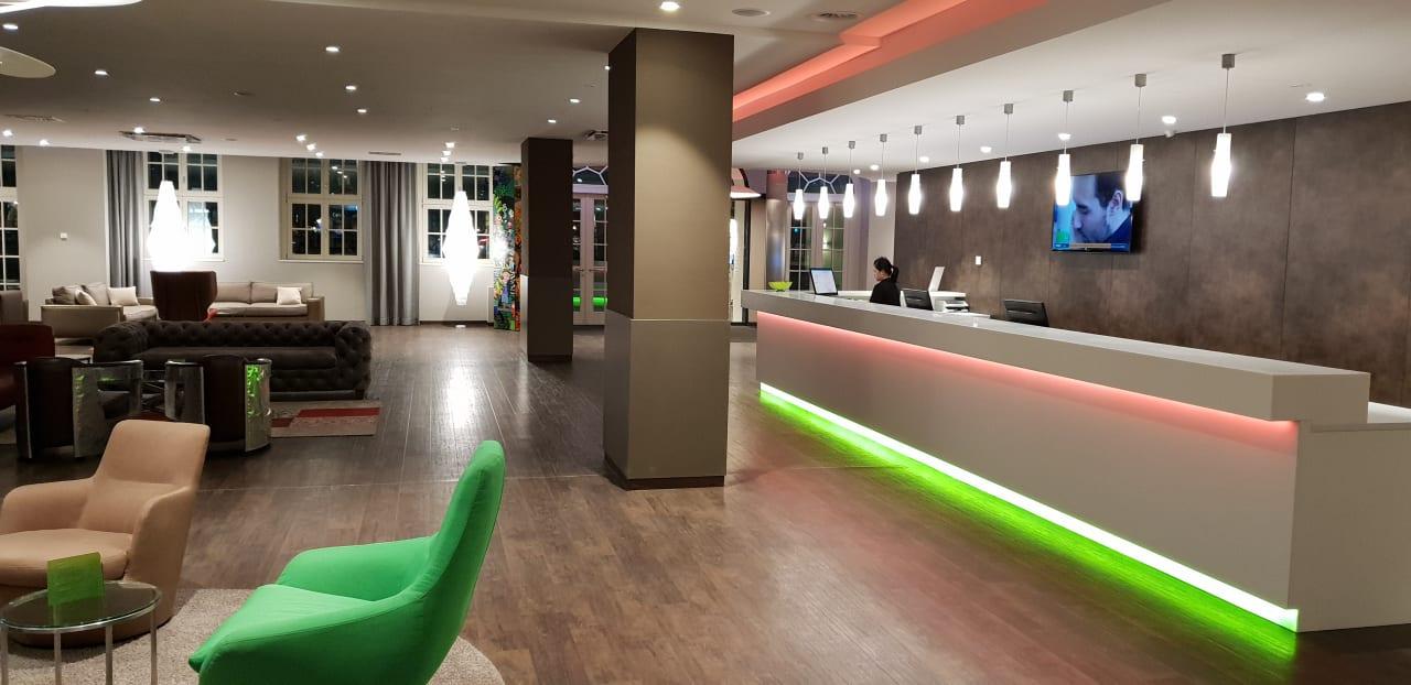 Lobby Travel24 Hotel Leipzig City