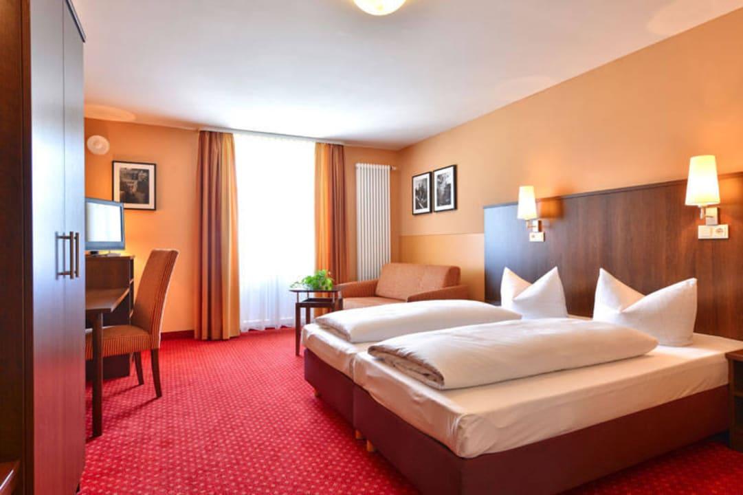 Beispiel von einem Zimmer Hotel Auf Wolke 8