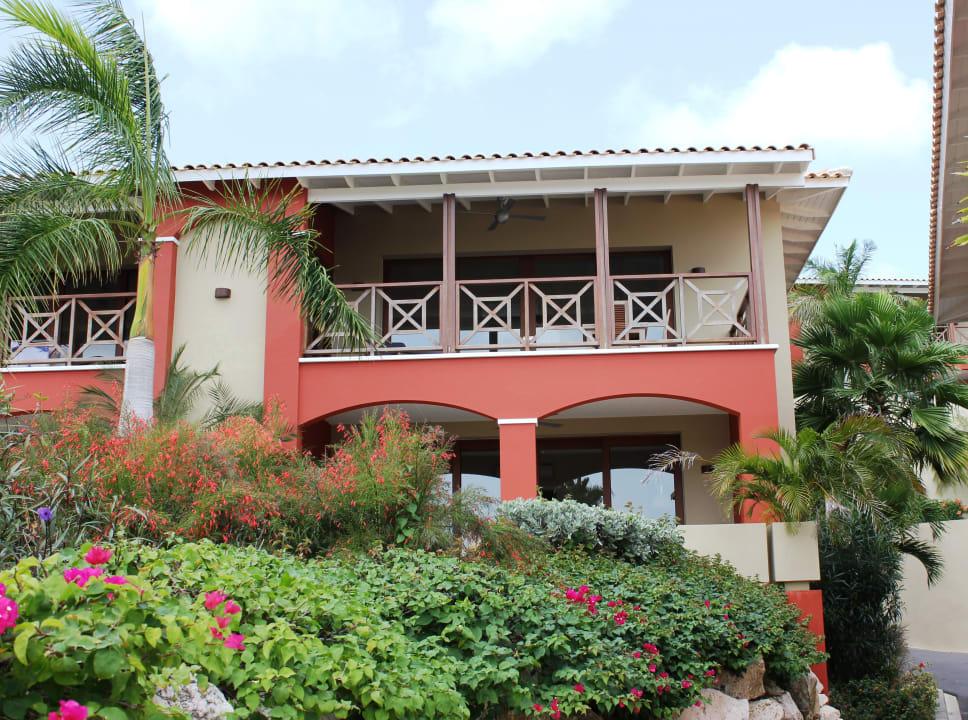 Außenansicht der Apartments La Maya Beach Curacao Resort