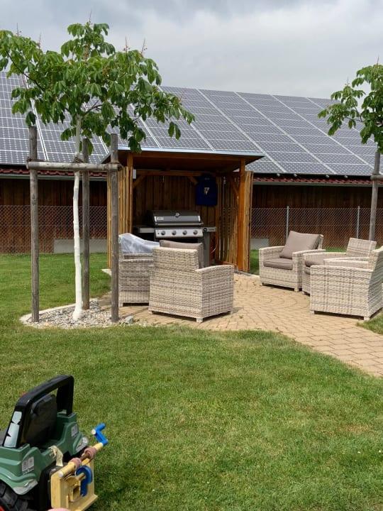 Gartenanlage Ferienhof Schmid