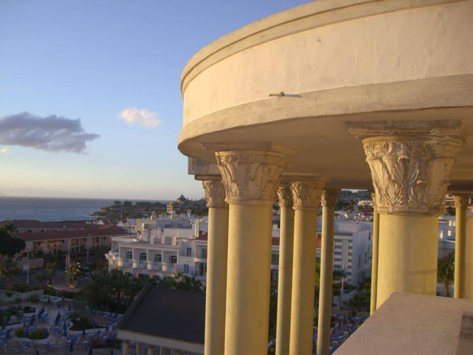 Blick vom Balkon Bahia Princess