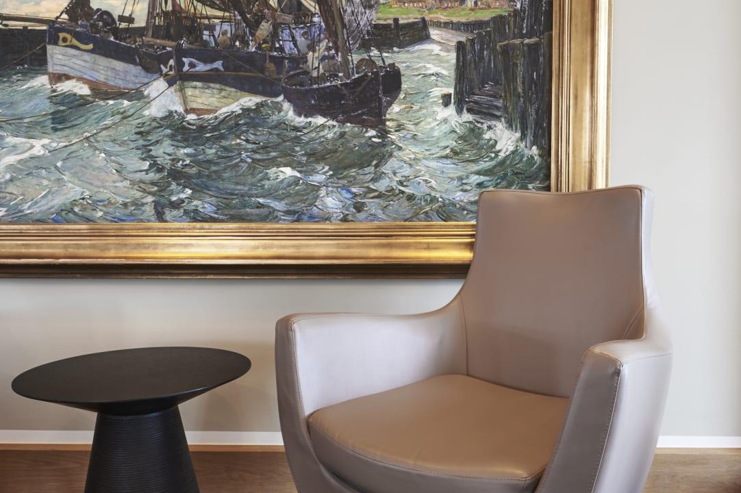 Lobby im-jaich hotel bremerhaven