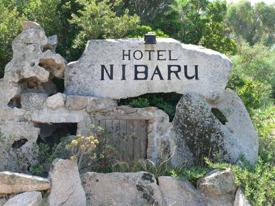 Hotel Einfahrt Hotel Nibaru
