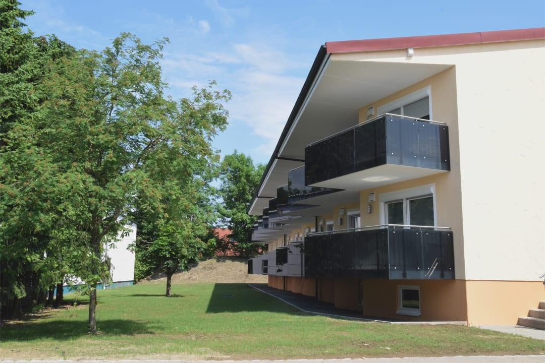 Außenansicht Aparthotel Donaustern