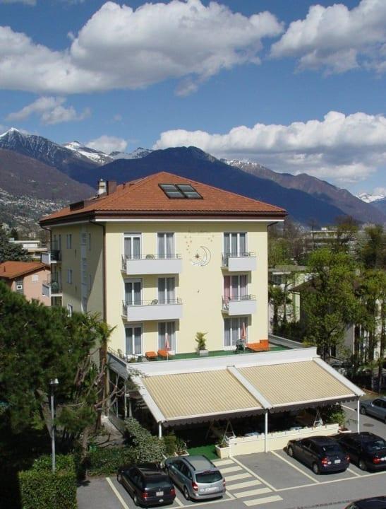 """Unser Hotel von """"oben"""" Hotel Luna"""