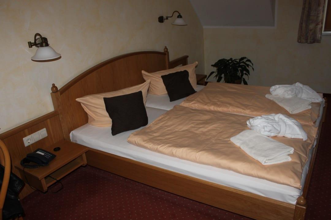 Doppelbett Hotel Amselgrundschlößchen