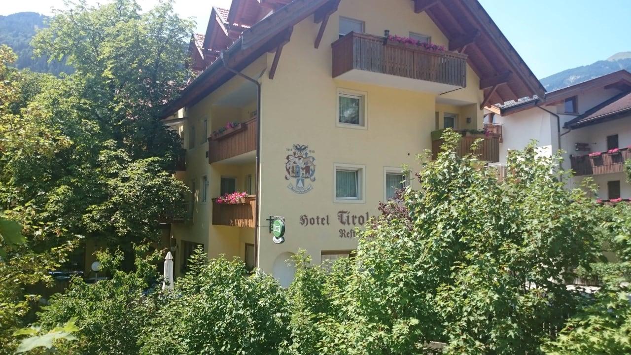 Blick auf das Hotel Hotel Tirolerhof