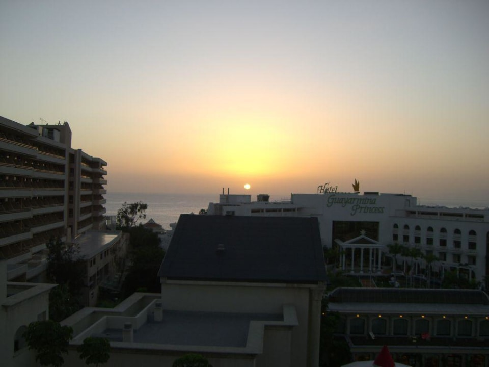 Sonnenuntergang vom Balkon Bahia Princess