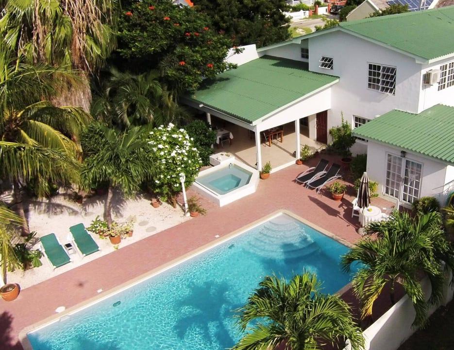 Blick von oben Bed & Breakfast Sombre Di Kabana