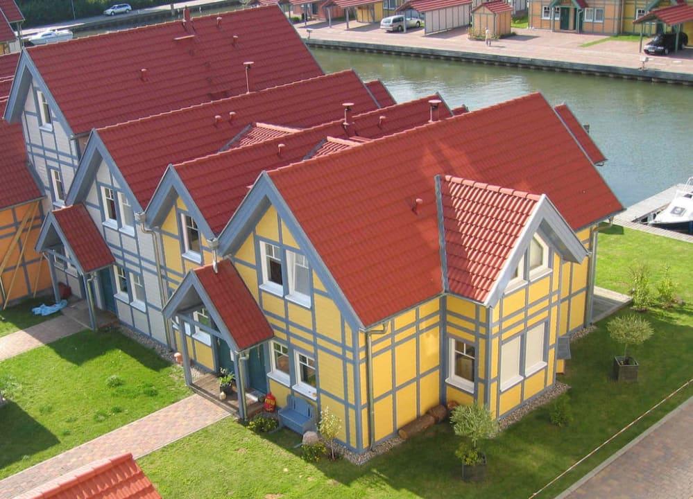 Ferienhäuser C1 und C2  Marinaresort Ferienhäuser Hafendorf Rheinsberg