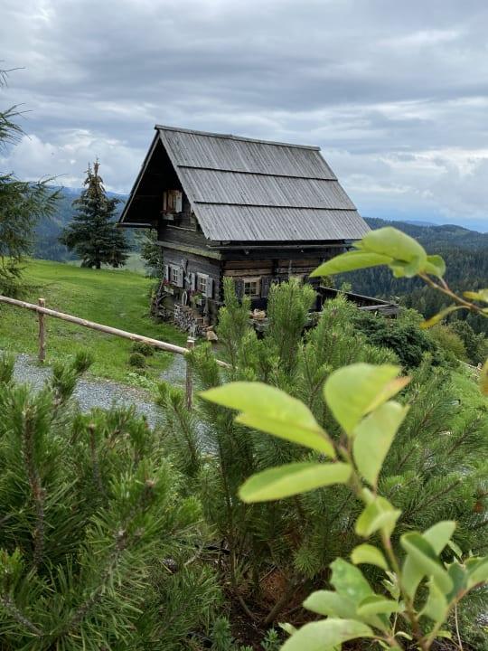 Ausblick Gipfelhaus Magdalensberg