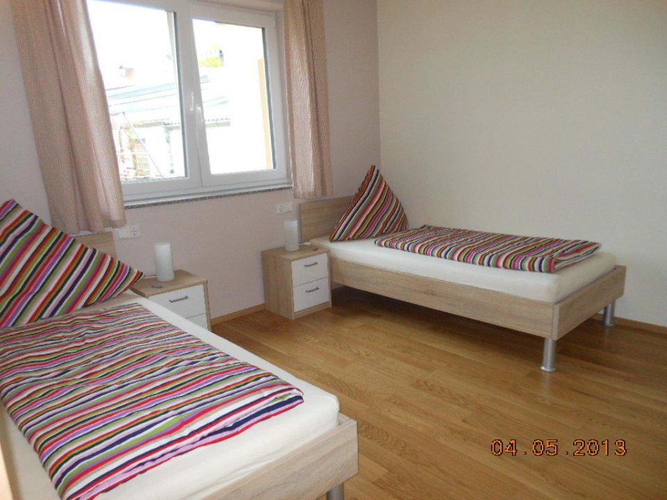 Schlafzimmer No.2 Neubau Ferienhof Schmid