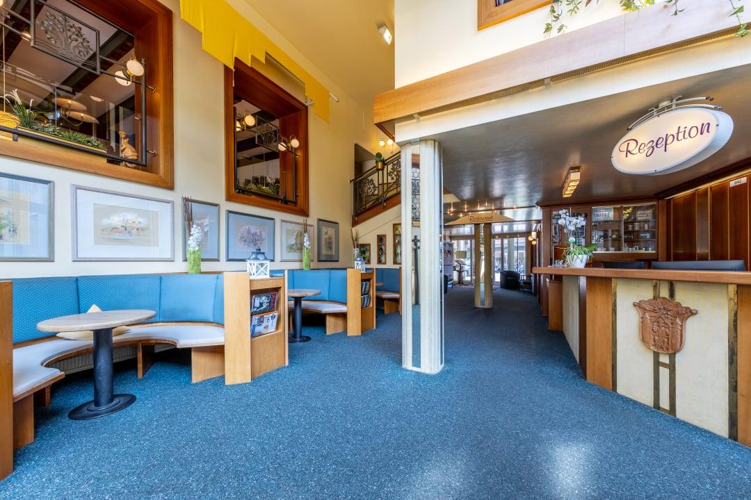 Lobby Aschaffenburger Hof by Trip Inn