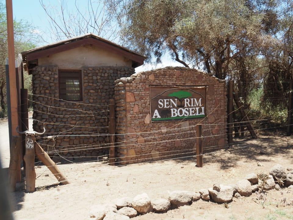 Außenansicht Sentrim Amboseli Lodge