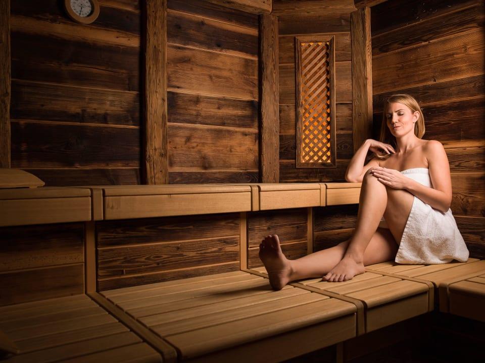 Entspannung in der Bio Sauna Aktiv Panoramahotel Daniel