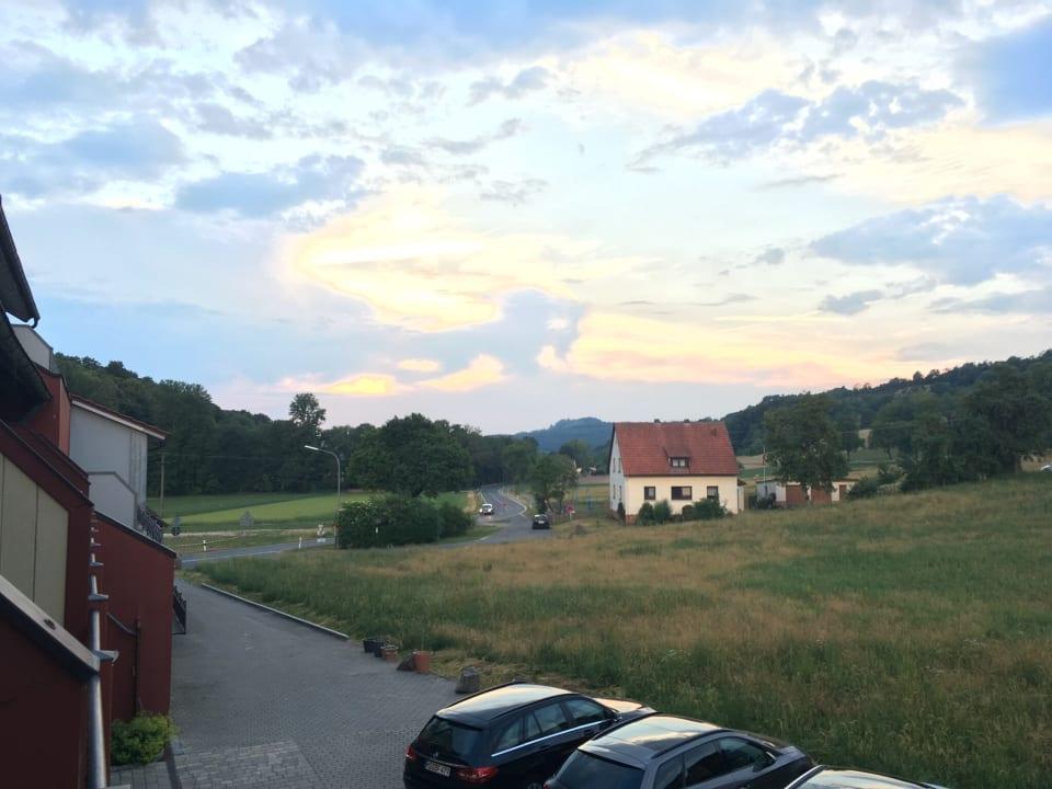 Ausblick Landferienhotel Augustin