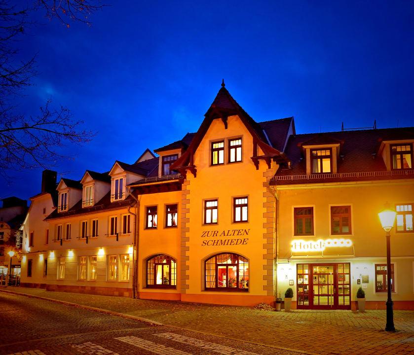 Außenansicht Hotel Zur Alten Schmiede