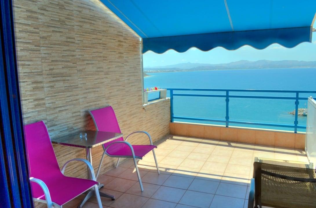 Ausblick Hotel Minos