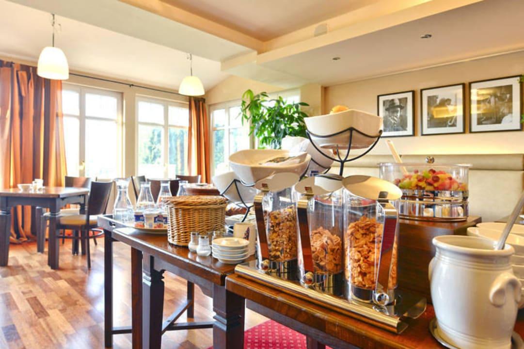 Unser reichhaltiges Frühstücksbuffet Hotel Auf Wolke 8