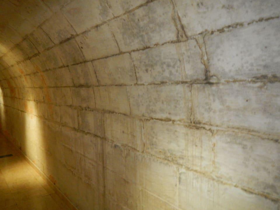 Tunnel zum anderen Gebäude Maritim Antonine Hotel & Spa Malta