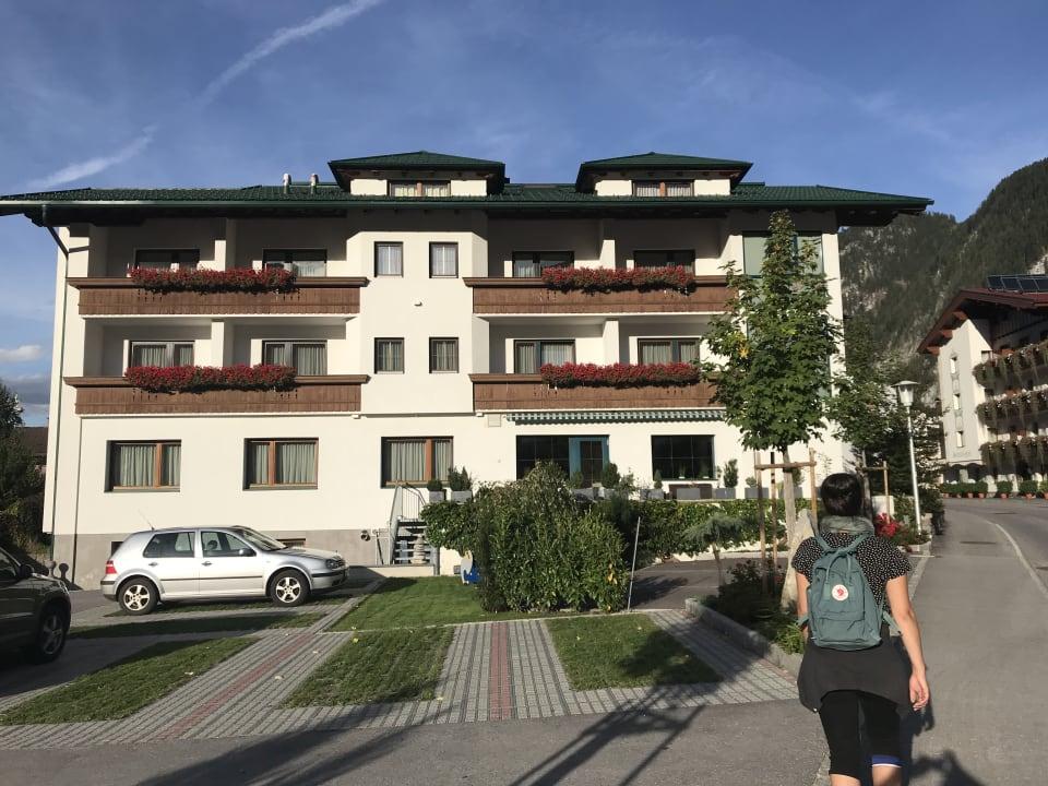 Außenansicht Hotel Garni Glück Auf