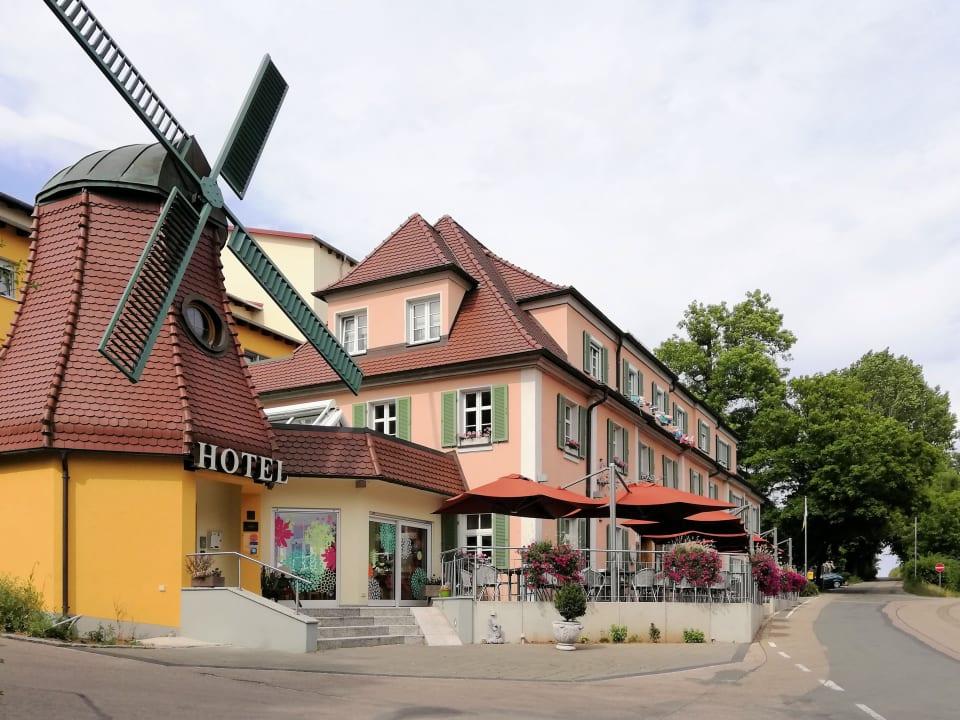 Außenansicht Hotel Zur Windmühle