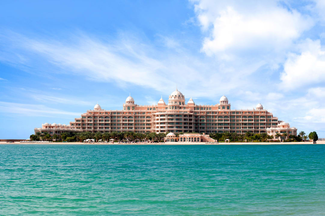 Hotel view from the beach Kempinski Hotel & Residences Palm Jumeirah