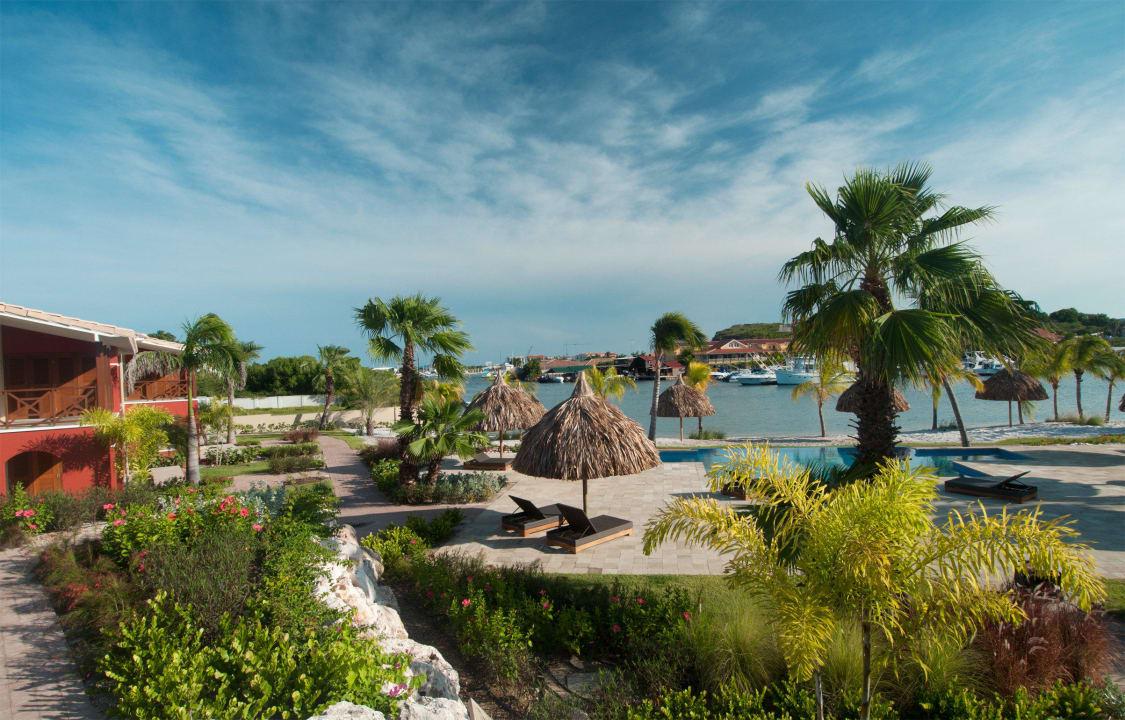 Garden view La Maya Beach Curacao Resort