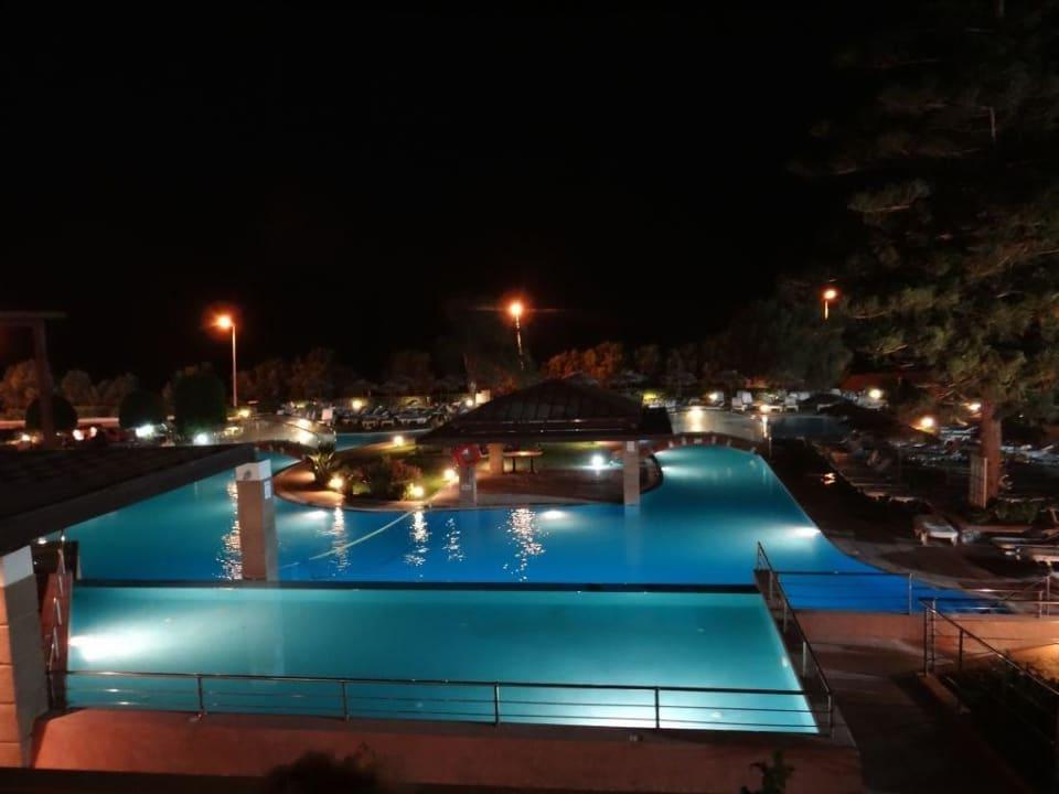 Widok z pokoju Hotel Oceanis Beach