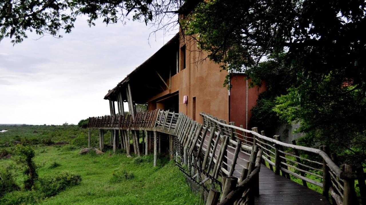 Mit Außenterrasse Restcamp Lower Sabie