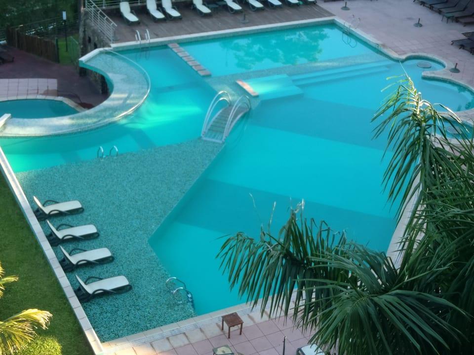 Pool area Hotel Amerian Portal Del Iguazu